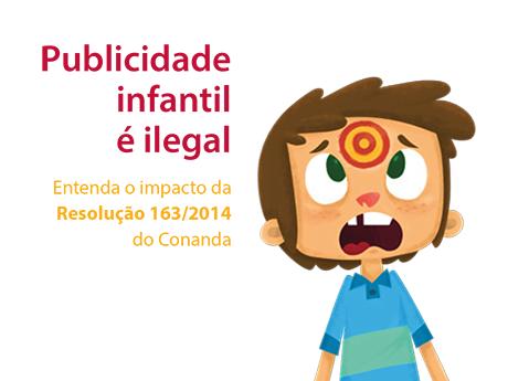 Publicidade infantil é ilegal