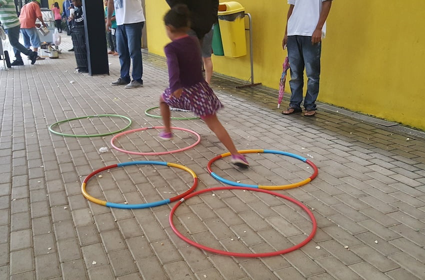 Semana mundial do Brincar no Espaço Alana. Foto: Márcia Duarte