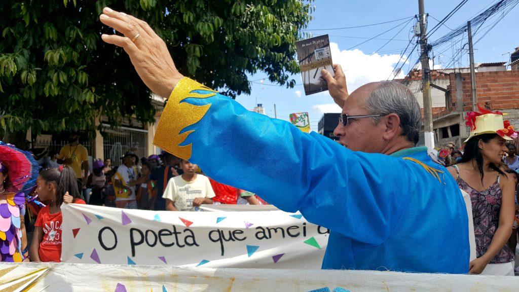 Espaço Alana faz homenagem a Mario Quintana no Carna-Autores 2018. Foto: Márcia Duarte.