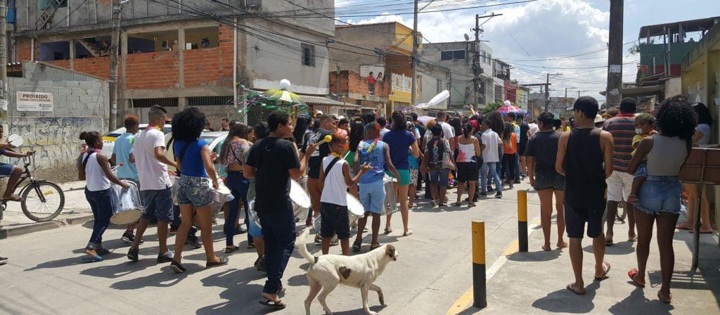 Comunidade em festa no Carna-Autores 2018.  Foto: Márcia Duarte.