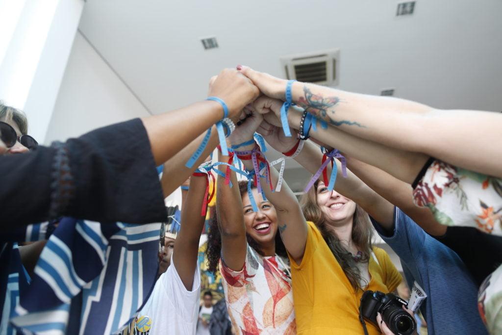 Premiação Desafio Criativos da Escola 2018. Foto: Marina Cavalcante.