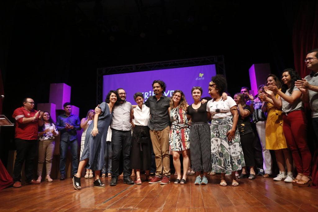 Equipe Criativos da Escola 2018. Foto: Marina Cavalcante.
