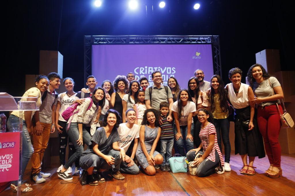 Desafio Criativos da Escola 2018. Foto: Marina Cavalcante.