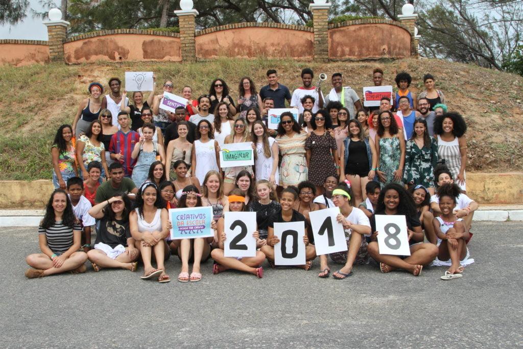 Premiados do Desafio Criativos da Escola 2018. Foto: Equipe Criativos da Escola.