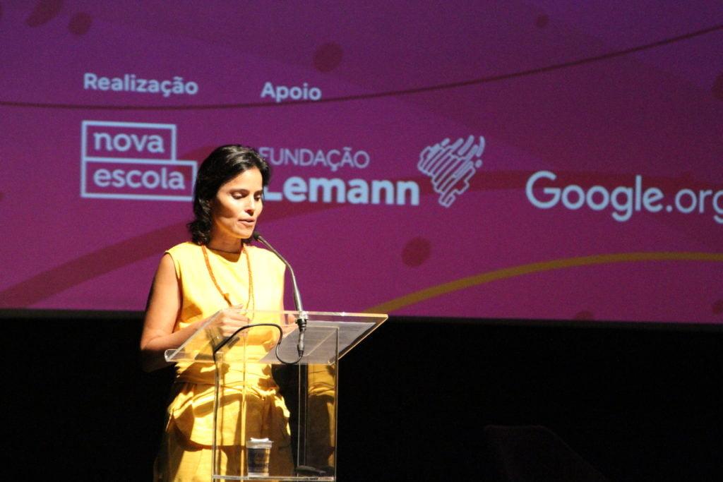Ana Lucia Villela no evento
