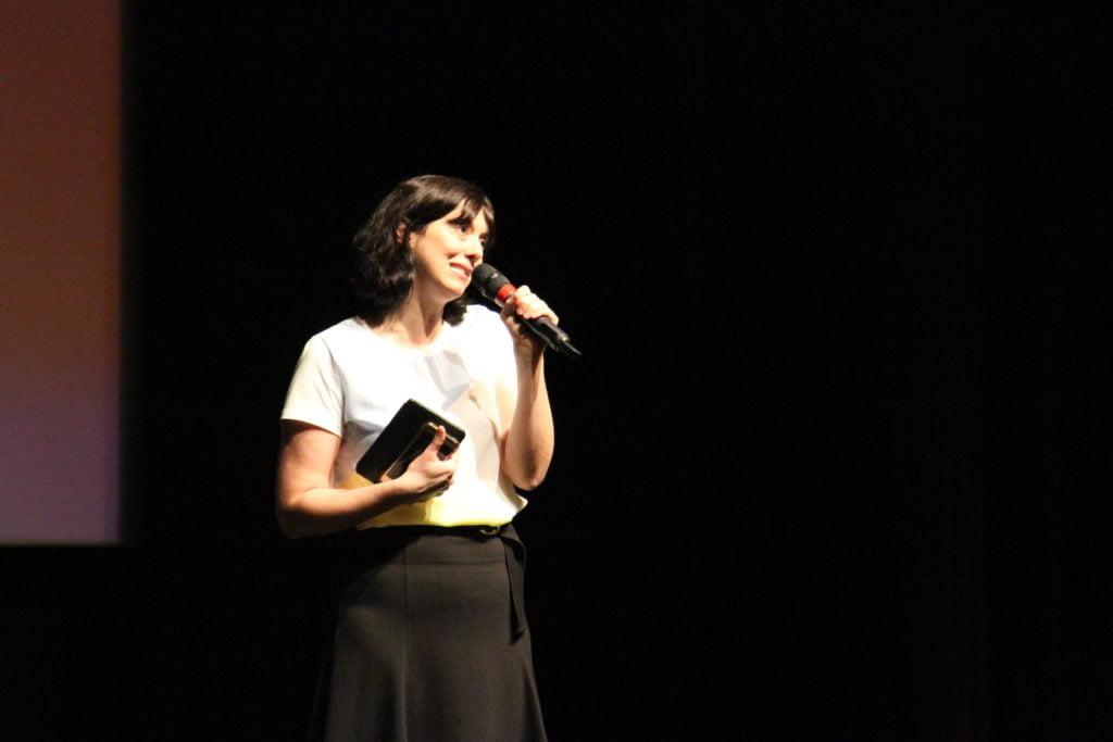 Raquel Franzim no evento
